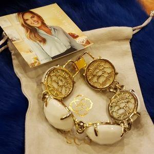 💼Kendra Scott Classic White Cassie Bracelet